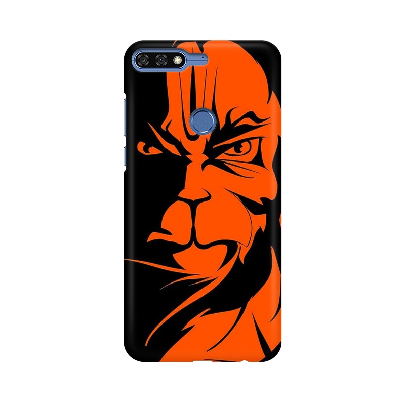 Angry Hanuman Huawei Honor 7C Mobile Cover Case