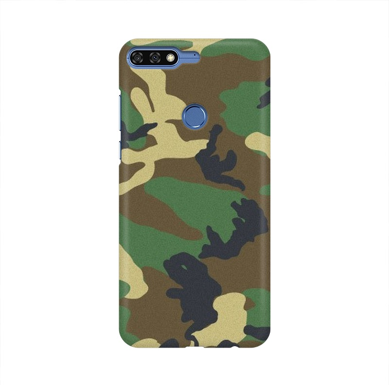 Army Texture Huawei Honor 7C Mobile Cover Case