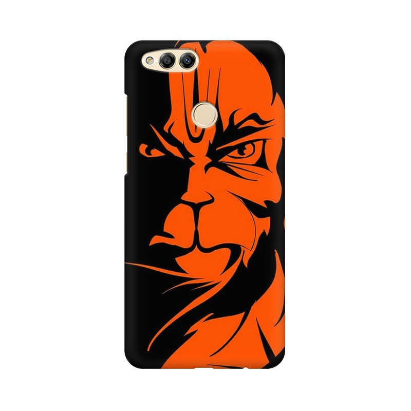 Angry Hanuman Huawei Honor 7X Mobile Cover Case