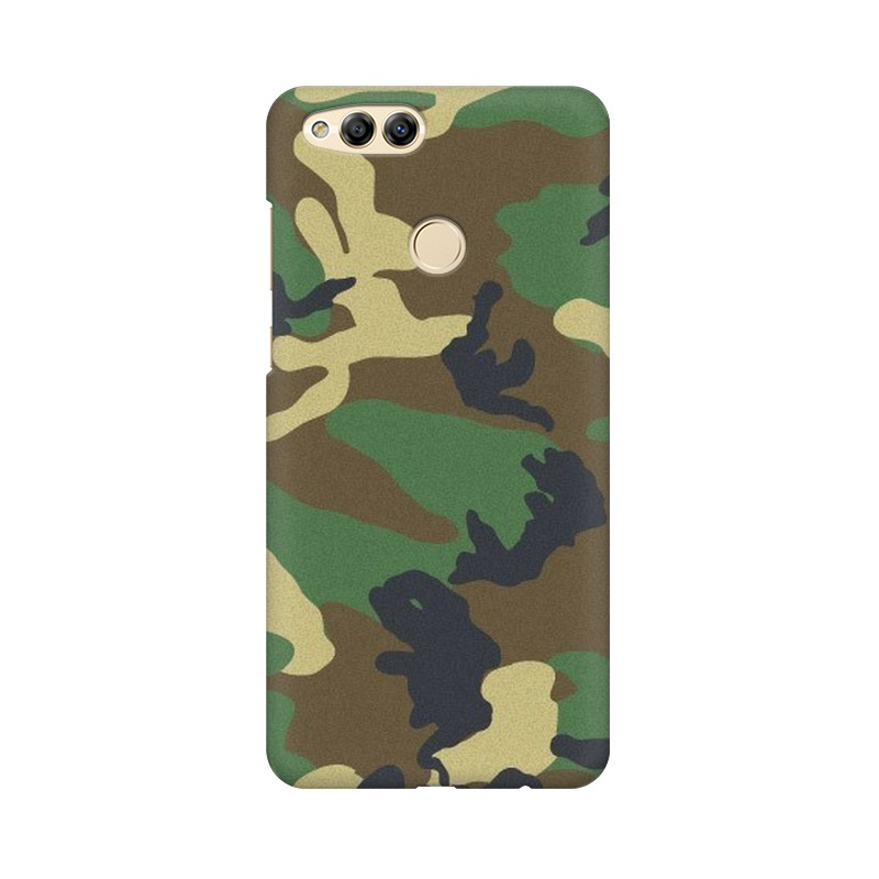 Army Texture Huawei Honor 7X Mobile Cover Case
