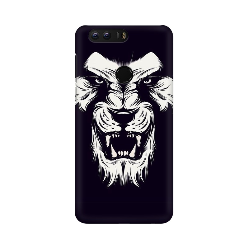 Angry Wolf Huawei Honor 8 Mobile Cover Case