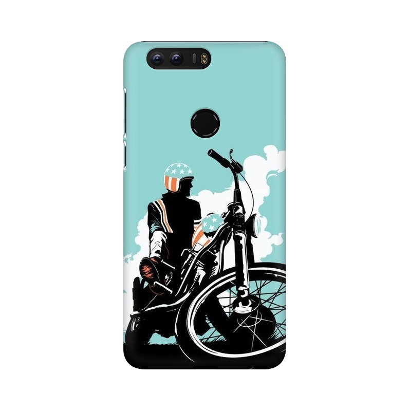American Biker Huawei Honor 8 Mobile Cover Case