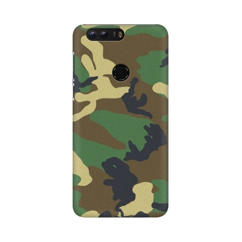 Army Texture Huawei Honor 8 Mobile Cover Case