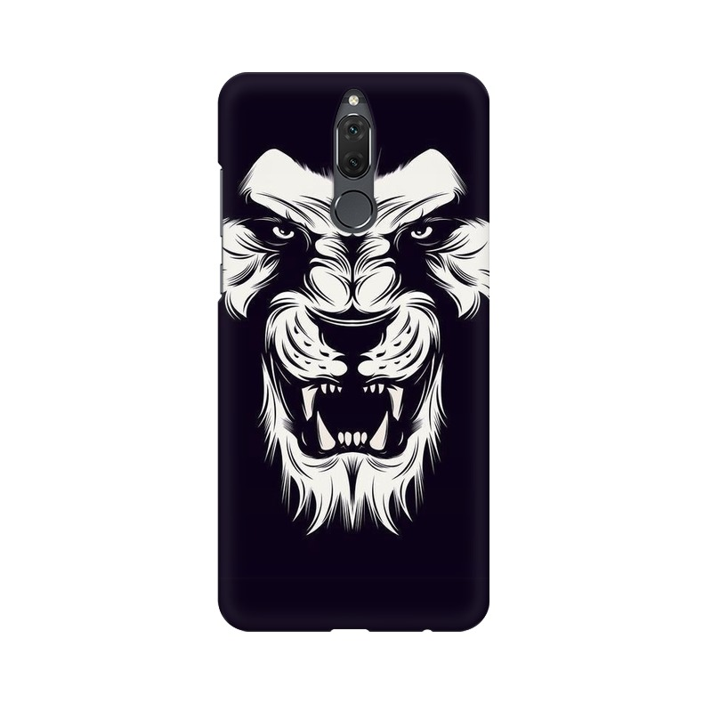Angry Wolf Huawei Honor 9i Mobile Cover Case