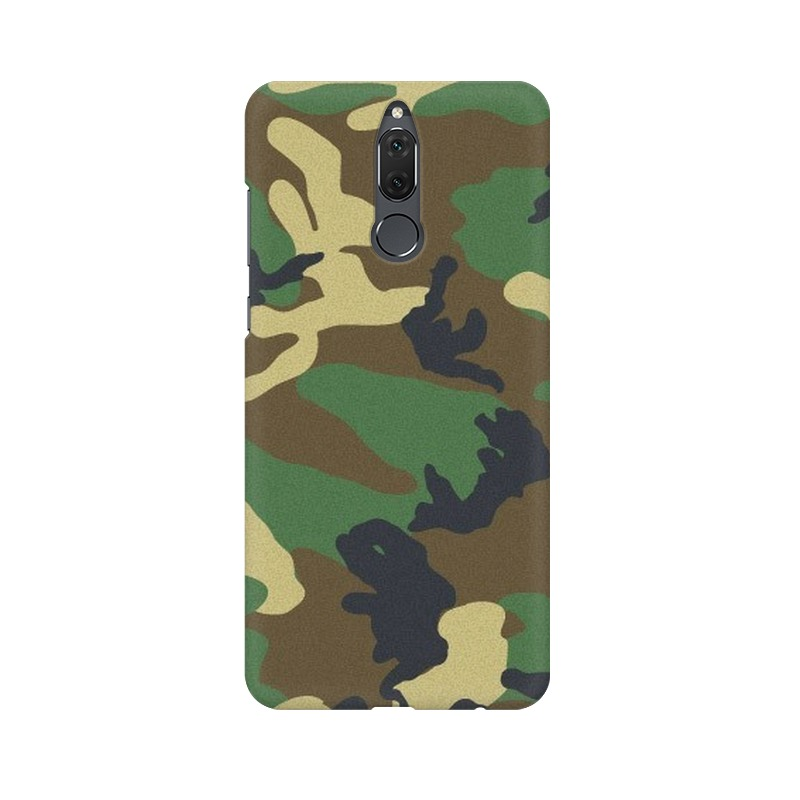 Army Texture Huawei Honor 9i Mobile Cover Case