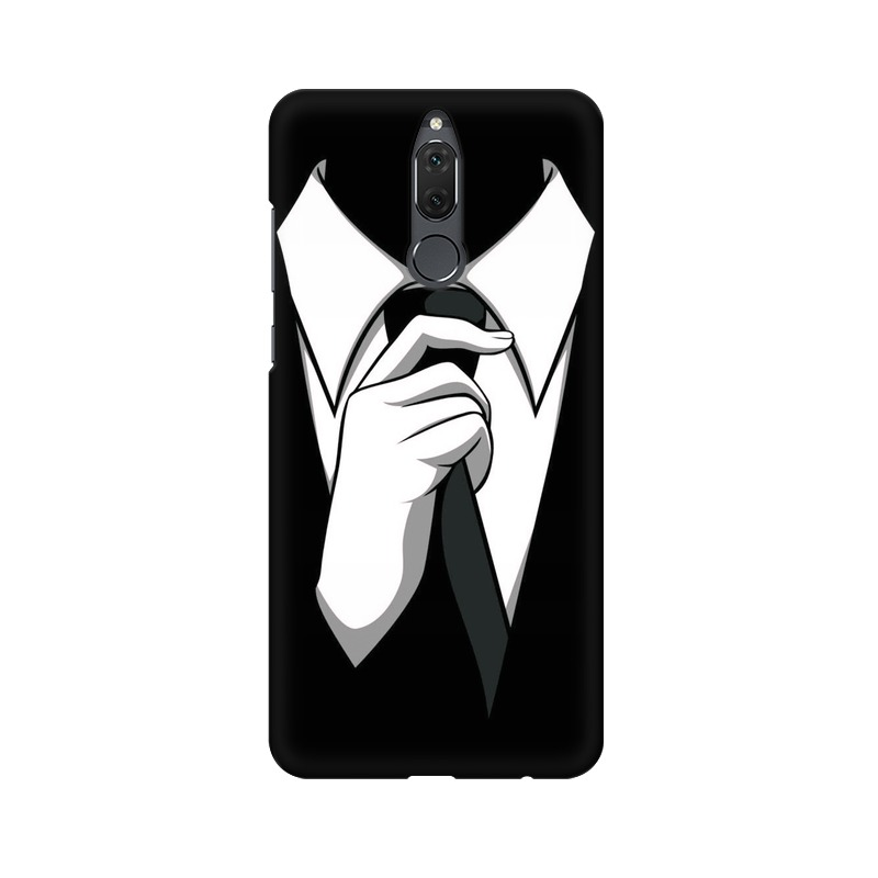 Anonymous Tie Huawei Honor 9i Mobile Cover Case
