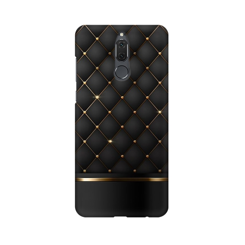 Black Gold Shine Texture Huawei Honor 9i Mobile Cover Case