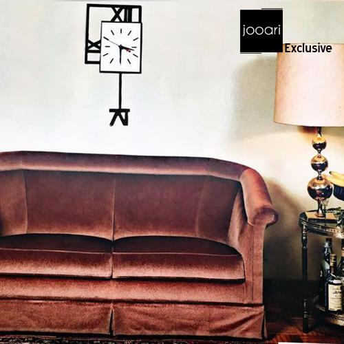 Jooari Double Square Long Wallclock