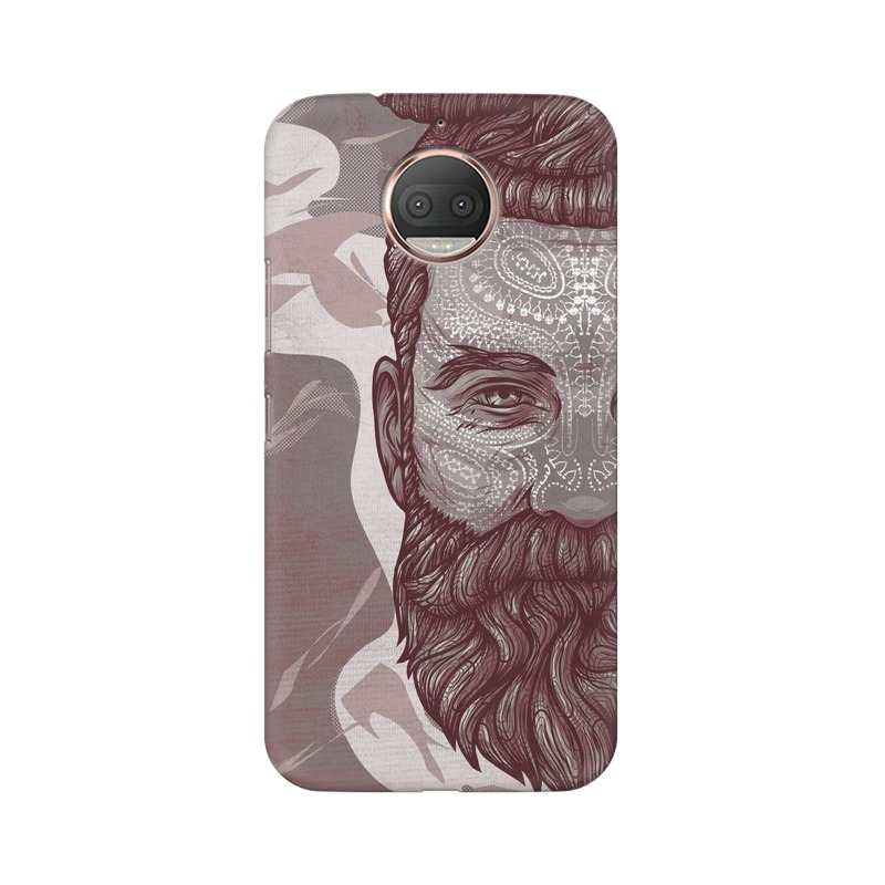 Beardo Man Motorola Moto G5s Plus Mobile Cover Case