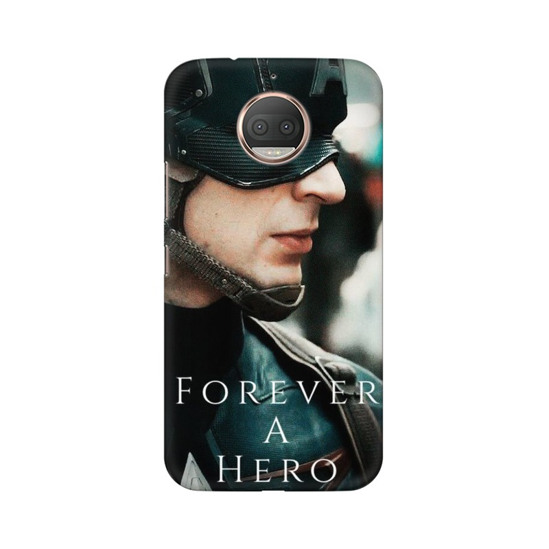 A True Hero Captain America Motorola Moto G5s Plus Mobile Cover Case