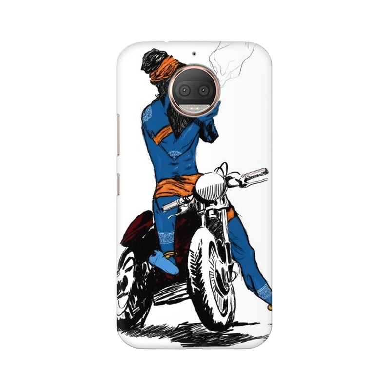 Biker Shiva Motorola Moto G5s Plus Mobile Cover Case
