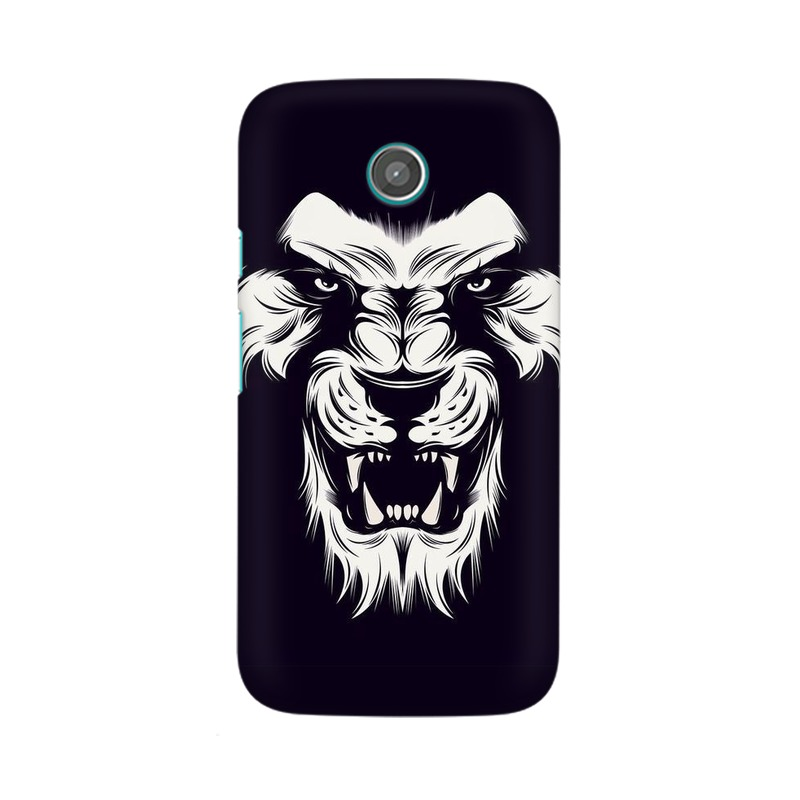 Angry Wolf Motorola Moto X Mobile Cover Case