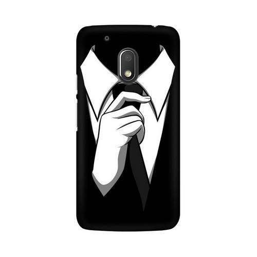 Anonymous Tie Motorola Moto G4 Play Mobile Cover Case