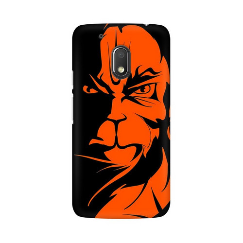 Angry Hanuman Motorola Moto G4 Play Mobile Cover Case
