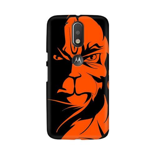 Angry Hanuman Motorola Moto G4 Plus Mobile Cover Case