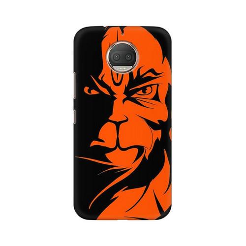 Angry Hanuman Motorola Moto G5S Mobile Cover Case