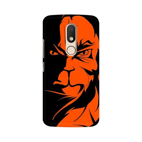 Angry Hanuman Motorola Moto M Mobile Cover Case