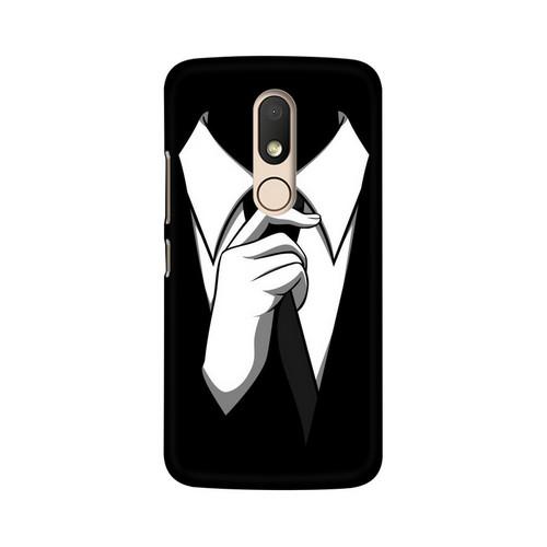 Anonymous Tie Motorola Moto M Mobile Cover Case