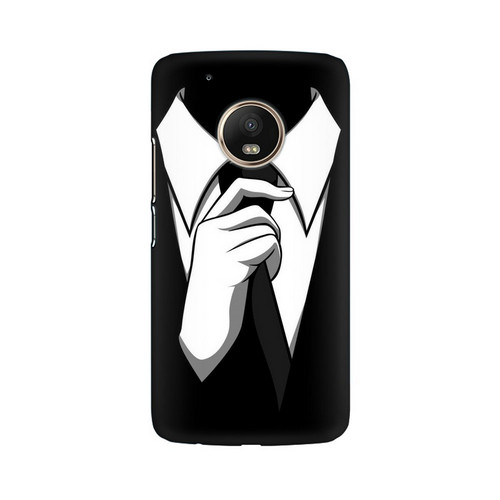 Anonymous Tie Motorola Moto G5 Plus Mobile Cover Case