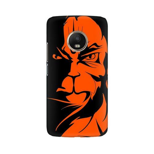 Angry Hanuman Motorola Moto G5 Plus Mobile Cover Case