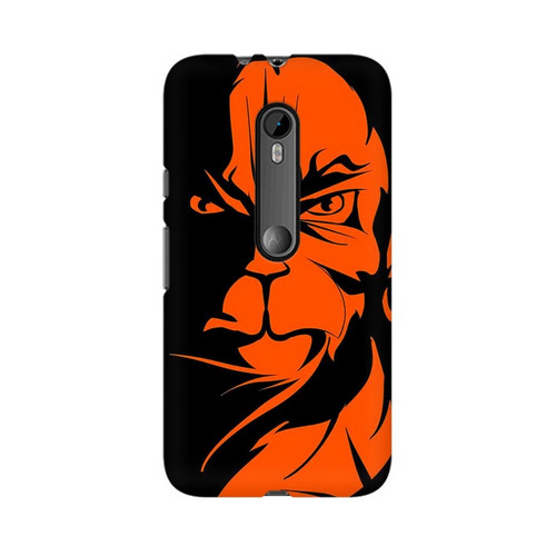 Angry Hanuman Motorola Moto X Play Mobile Cover Case