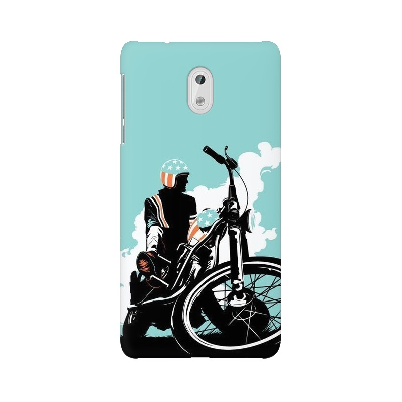 American Biker Nokia 3 Mobile Cover Case