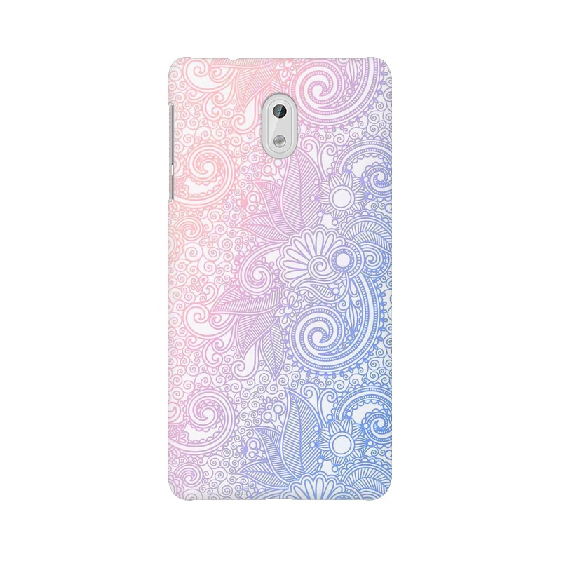 Beautiful rangoli Nokia 3 Mobile Cover Case