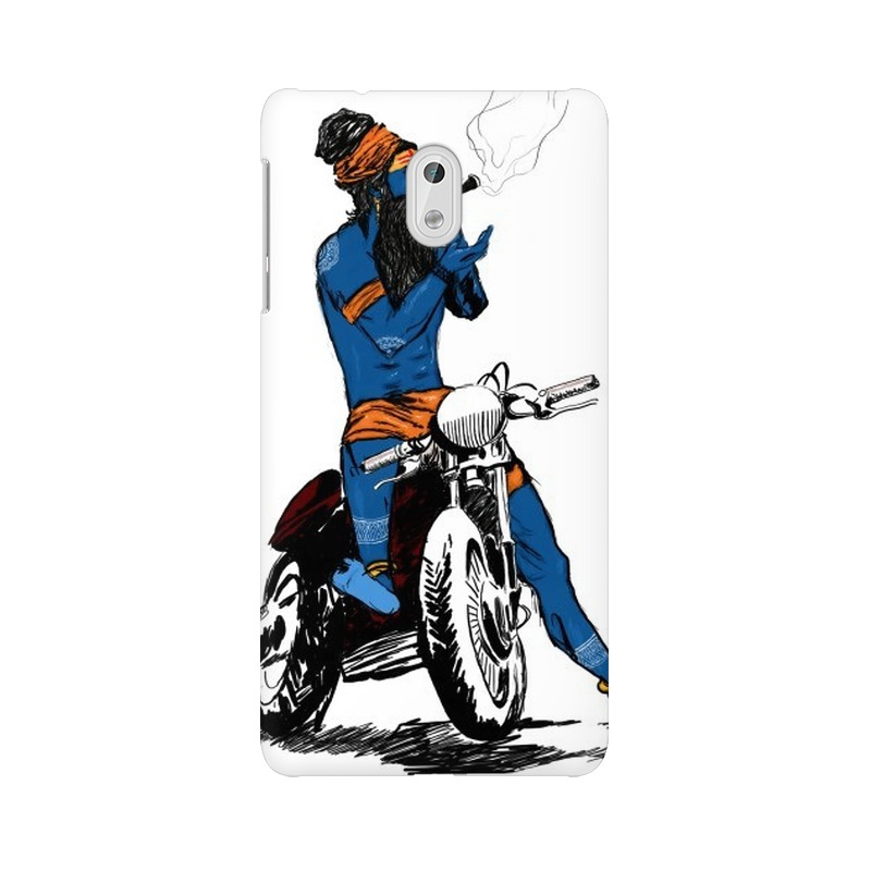 Biker Shiva Nokia 3 Mobile Cover Case