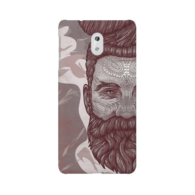 Beardo Man Nokia 3 Mobile Cover Case