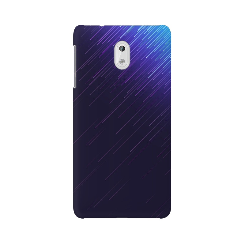 Blue sparkles Nokia 3 Mobile Cover Case