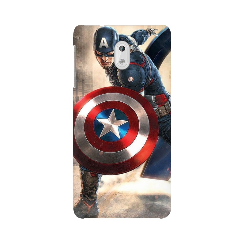 Captain America Fighting Nokia 3 Mobile Cover Case