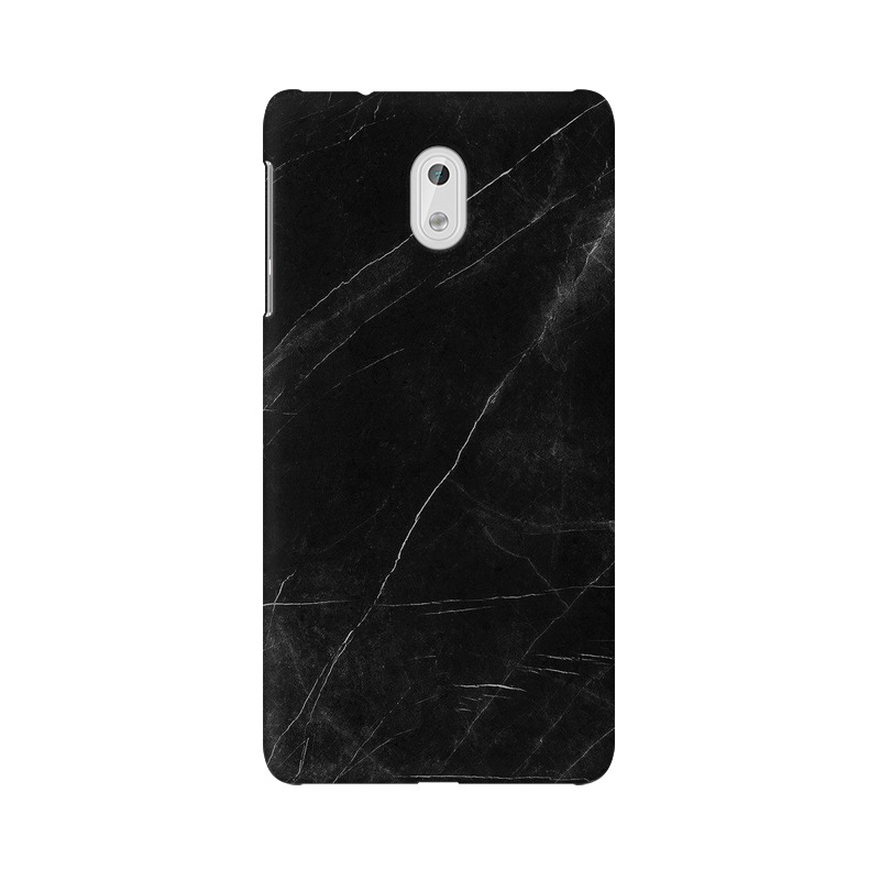 Black stone Nokia 3 Mobile Cover Case