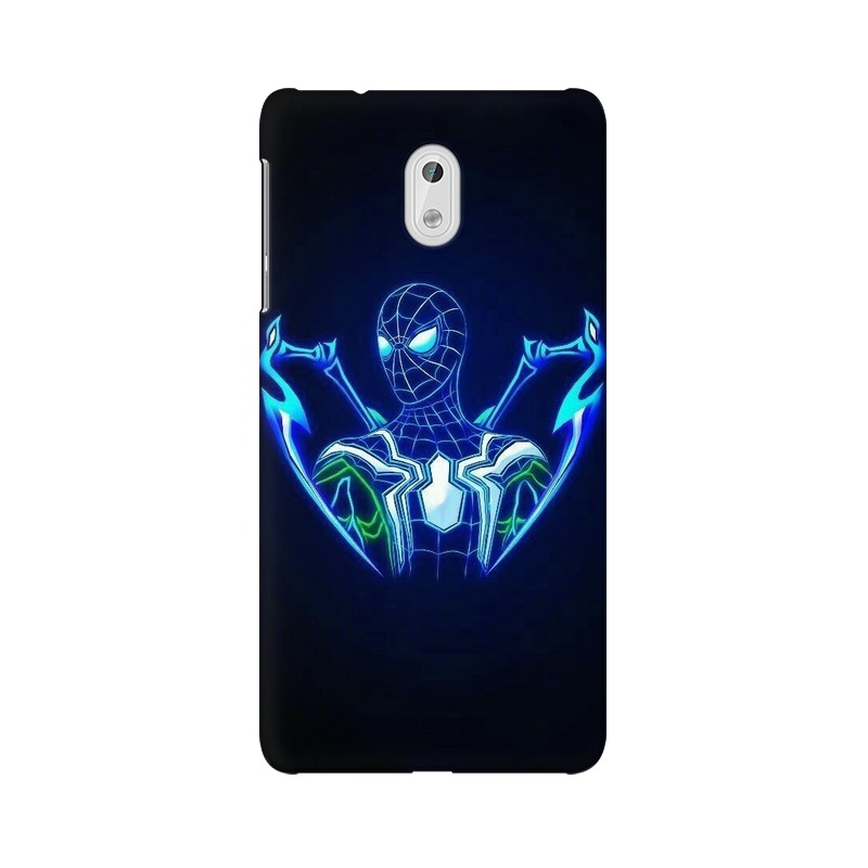 Black Spiderman Nokia 3 Mobile Cover Case