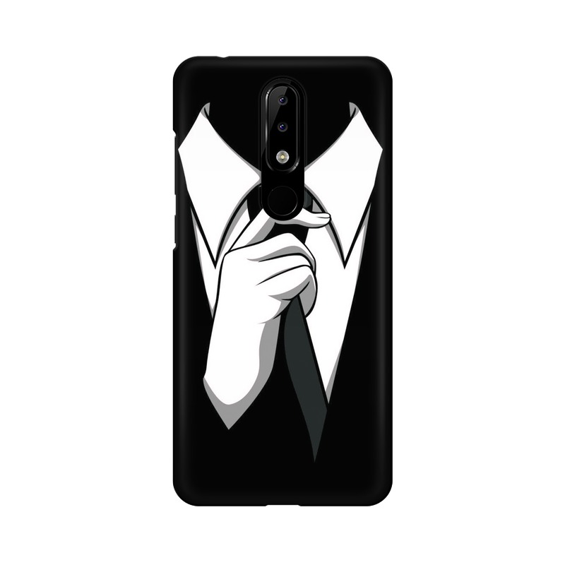 Anonymous Tie Nokia 5.1 Plus Mobile Cover Case