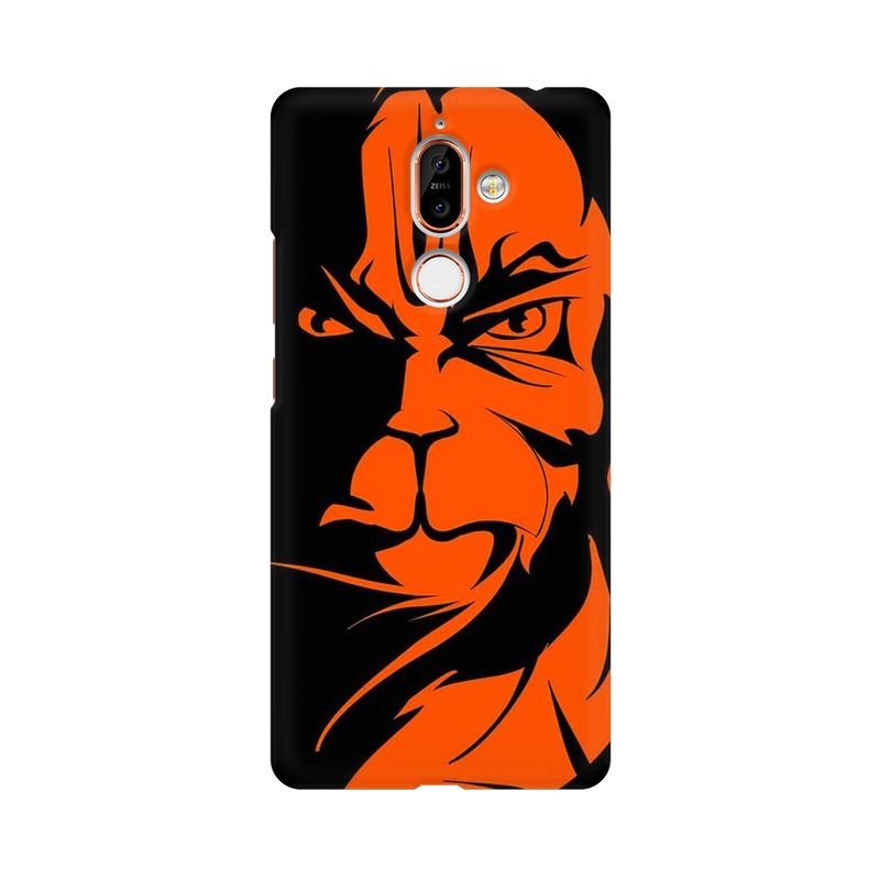 Angry Hanuman Nokia 7 Plus Mobile Cover Case