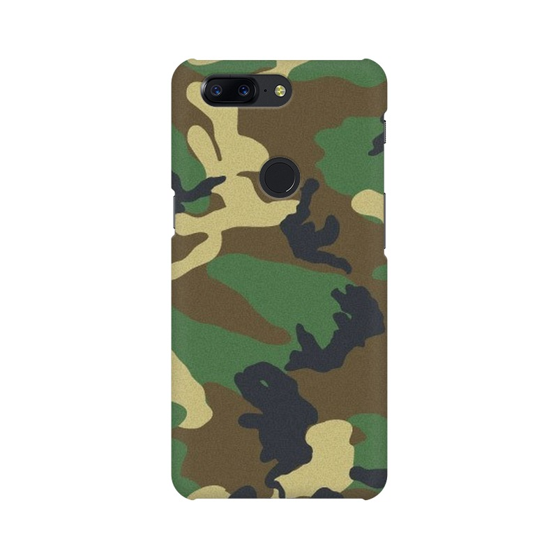 Army Texture One Plus 5T Mobile Cover Case