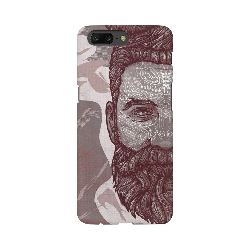 Beardo Man One Plus 5 Mobile Cover Case