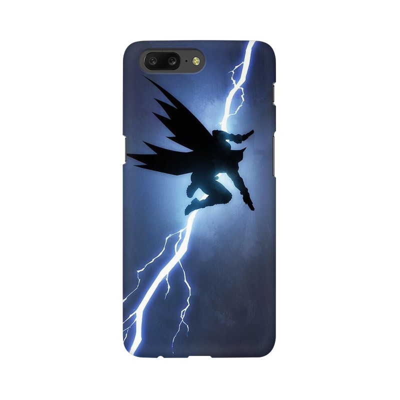 Batman Thunder One Plus 5 Mobile Cover Case