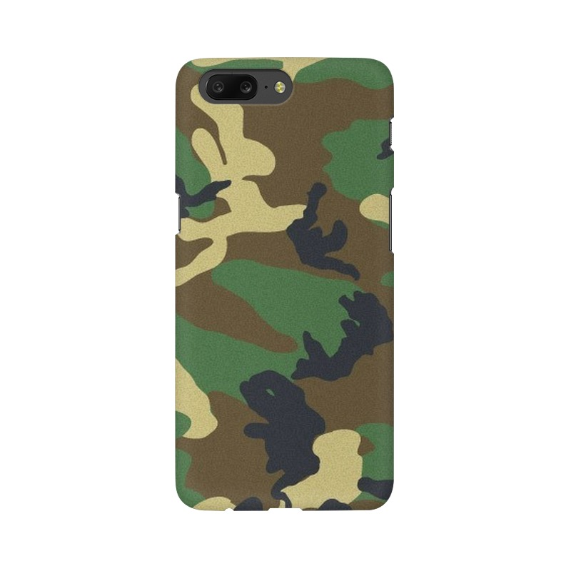 Army Texture One Plus 5 Mobile Cover Case