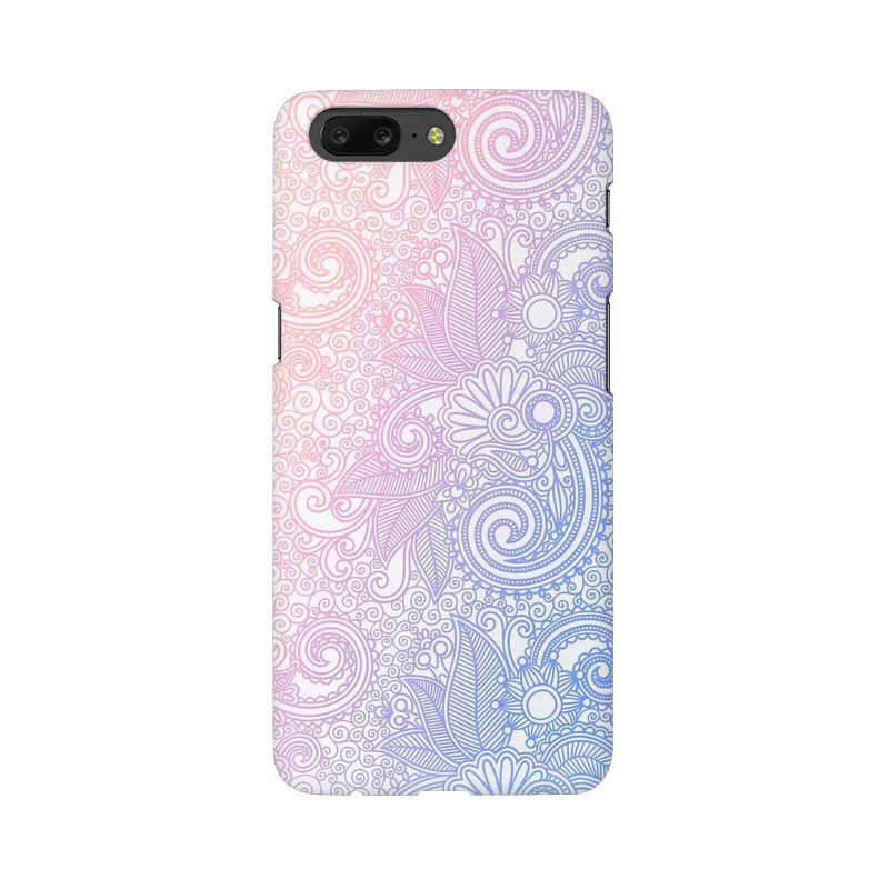 Beautiful rangoli One Plus 5 Mobile Cover Case