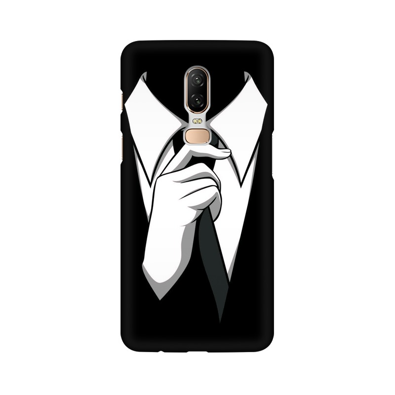 Anonymous Tie One Plus 6 Mobile Cover Case
