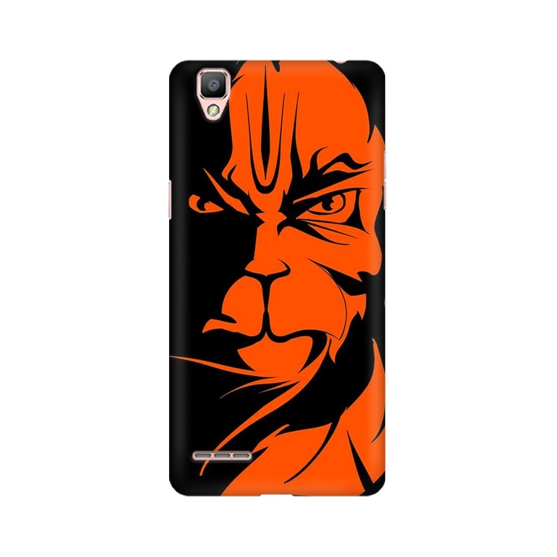 Angry Hanuman Oppo A35 Mobile Cover Case