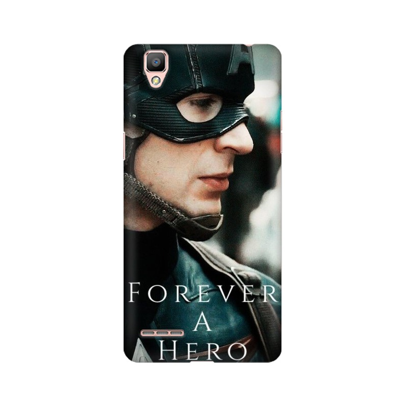 A True Hero Captain America Oppo A35 Mobile Cover Case