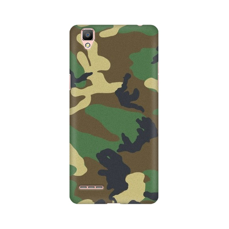 Army Texture Oppo A35 Mobile Cover Case
