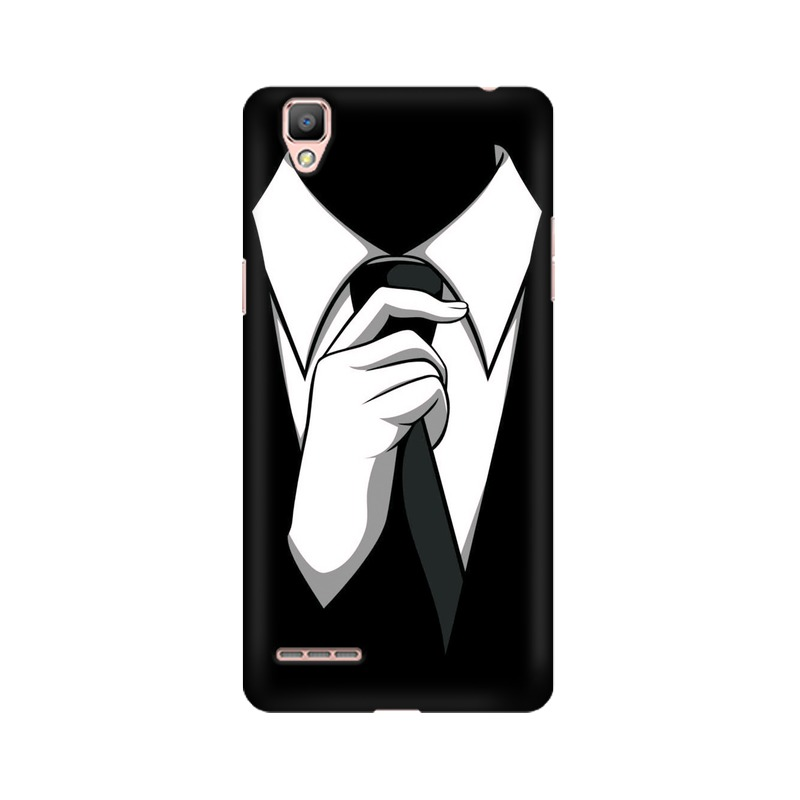 Anonymous Tie Oppo A35 Mobile Cover Case