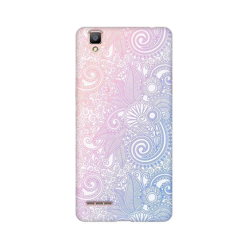 Beautiful rangoli Oppo A35 Mobile Cover Case