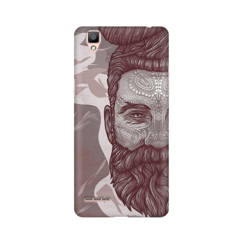 Beardo Man Oppo A35 Mobile Cover Case