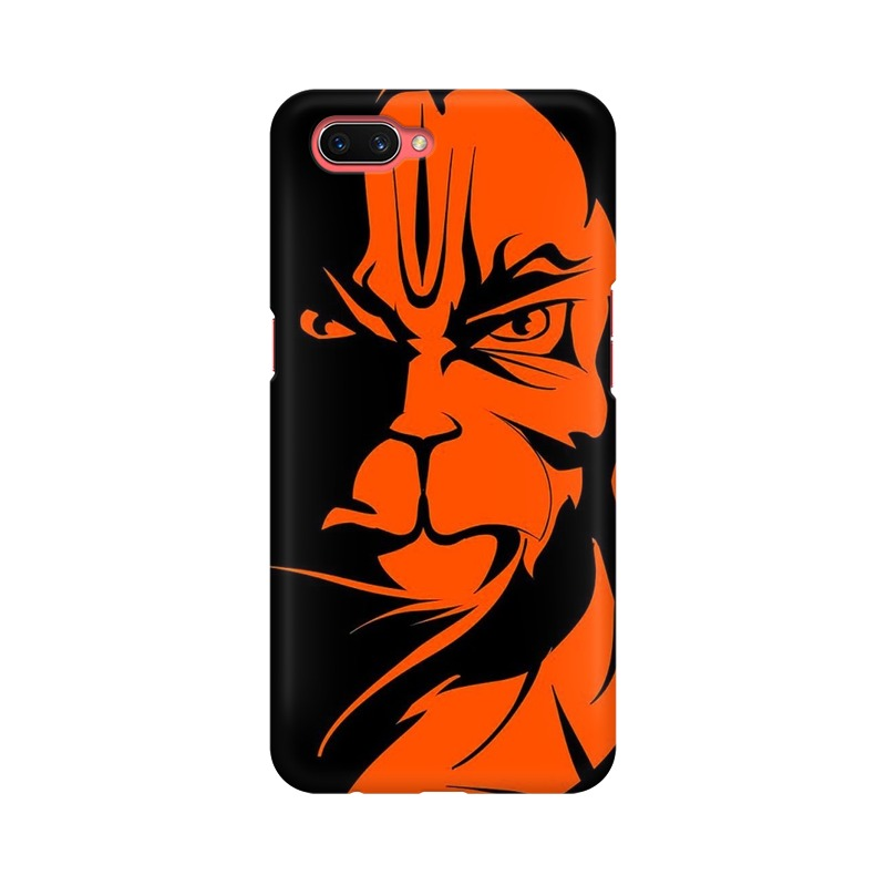 Angry Hanuman Oppo A3S Mobile Cover Case