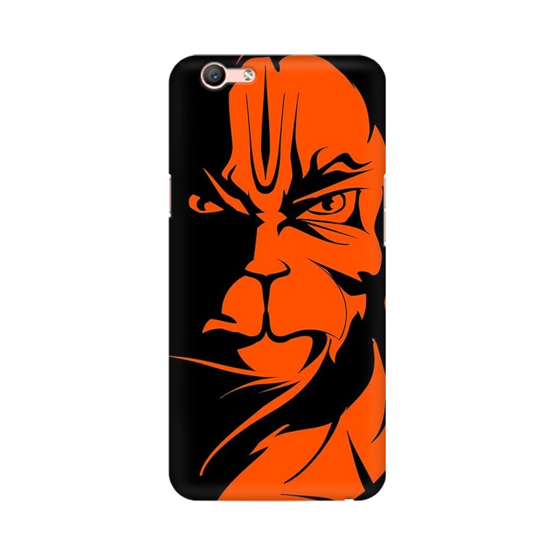 Angry Hanuman Oppo A59 Mobile Cover Case