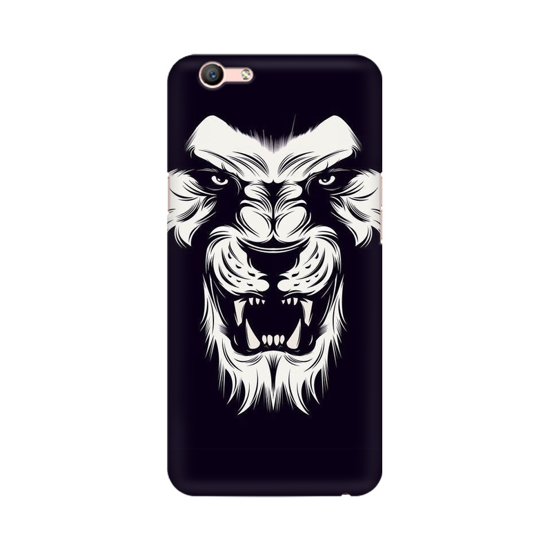 Angry Wolf Oppo A59 Mobile Cover Case